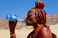 Kaokoland - Himba - Autor fotografie: Julo Nagy/Foto Safari Namíbia 2008