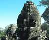 V chráme Bayon Kambodža/Kambodza
