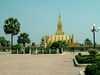 Zlatá stúpa Laos