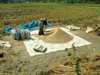 Práca na s ryžovom poli  Laos