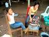 Pečené sladké zemiaky Laos