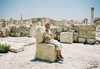V antickom meste Kourion Cyprus