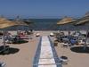 pláž hotela Tunisko