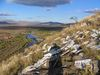 z kopca za Ulanbatarom Mongolsko