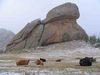 korytnacia skala  Mongolsko