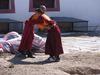mladí budhistickí mnísi Mongolsko