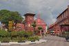 Malacca námestie Malajzia