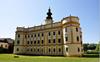 Pohľad na kaštieľ Múzeum historického nábytku – Markušovce/Muzeum historickeho nabytku - Markusovce