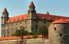 Pohľad na hrad Hrad Bratislava