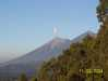 Antigua- sopka Guatemala