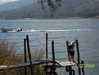 Lake Atitlan - lodka pod  Guatemala