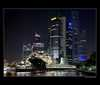 Nočný Singapur Singapur