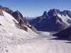 Ľadovec Mer de Glace Francúzsko/Francuzsko