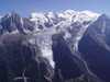 Mont Blanc od Breventu Francúzsko/Francuzsko